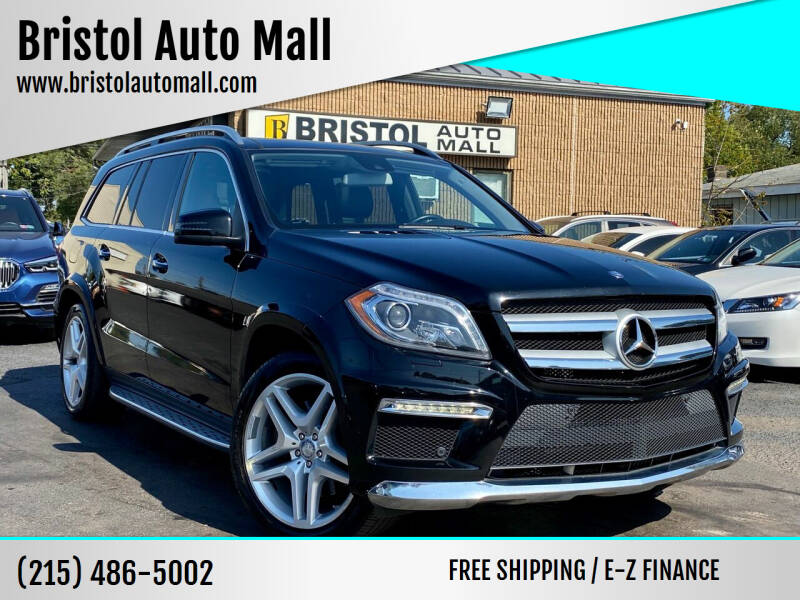 2013 Mercedes-Benz GL-Class for sale at Bristol Auto Mall in Levittown PA