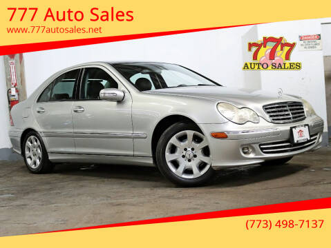 2005 Mercedes-Benz C-Class for sale at 777 Auto Sales in Bedford Park IL