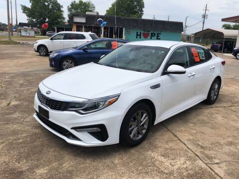 2019 Kia Optima for sale at BRAMLETT MOTORS in Hope AR