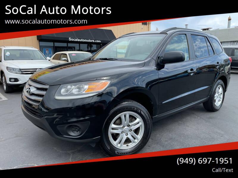 2012 Hyundai Santa Fe for sale in Costa Mesa, CA