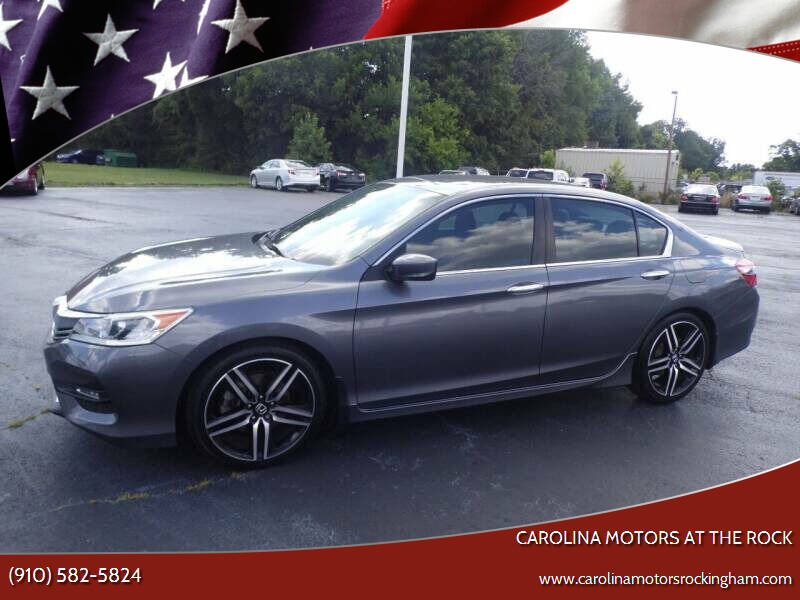 2016 Honda Accord for sale at Carolina Motors in Thomasville NC