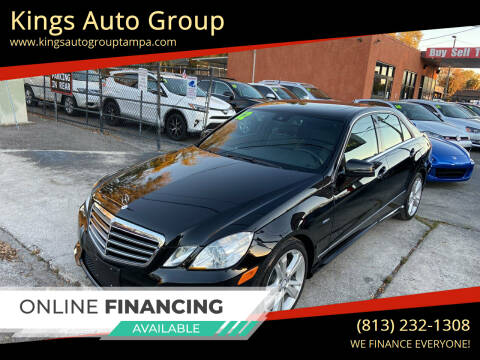 2012 Mercedes-Benz E-Class for sale at Kings Auto Group in Tampa FL