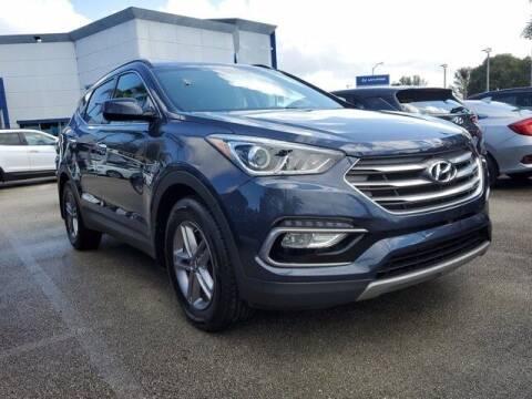 2017 Hyundai Santa Fe Sport for sale at DORAL HYUNDAI in Doral FL