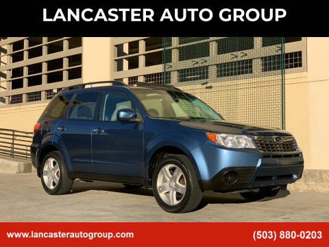 2009 Subaru Forester for sale at LANCASTER AUTO GROUP in Portland OR