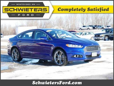 2016 Ford Fusion for sale at Schwieters Ford of Montevideo in Montevideo MN