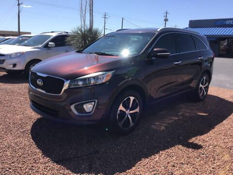 2016 Kia Sorento for sale at SPEND-LESS AUTO in Kingman AZ