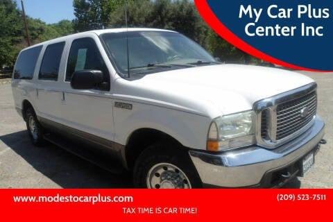 2002 Ford Excursion for sale at My Car Plus Center Inc in Modesto CA