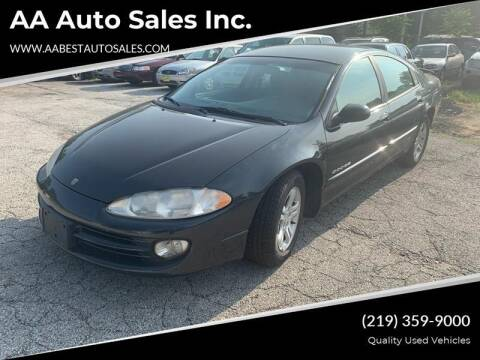 1999 Dodge Intrepid for sale at AA Auto Sales Inc. in Gary IN