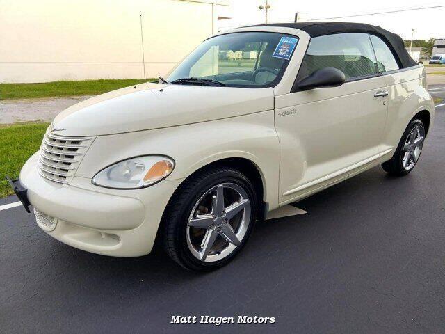 2005 Chrysler PT Cruiser for sale at Matt Hagen Motors in Newport NC
