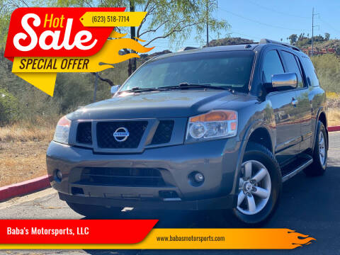 2011 Nissan Armada for sale at Baba's Motorsports, LLC in Phoenix AZ