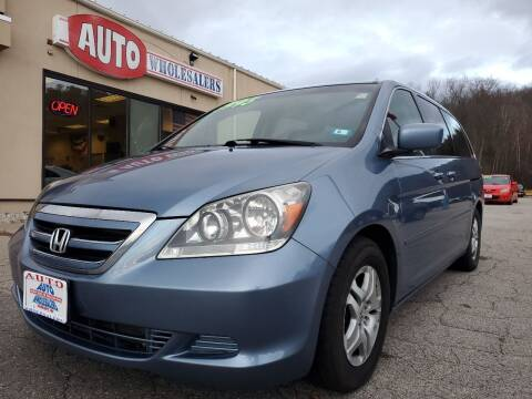 2007 Honda Odyssey for sale at Auto Wholesalers Of Hooksett in Hooksett NH