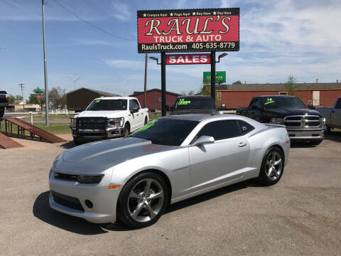2014 Chevrolet Camaro for sale at RAUL'S TRUCK & AUTO SALES, INC in Oklahoma City OK