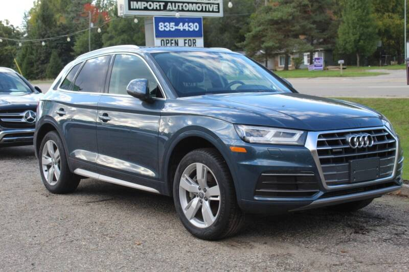 2018 Audi Q5 for sale at Rallye Import Automotive Inc. in Midland MI