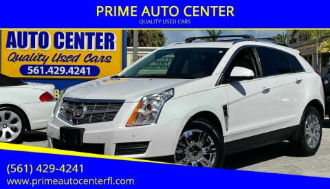 2011 Cadillac SRX for sale at PRIME AUTO CENTER in Palm Springs FL