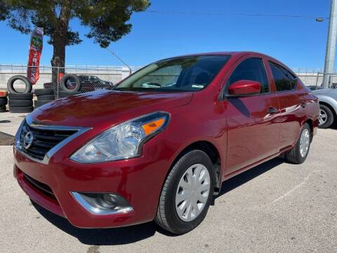 2019 Nissan Versa for sale at Eastside Auto Sales in El Paso TX