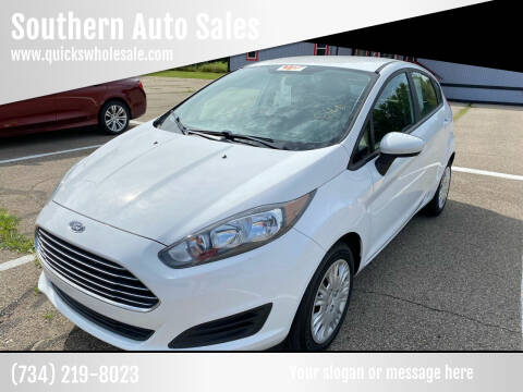 2016 Ford Fiesta for sale at Southern Auto Sales in Clinton MI