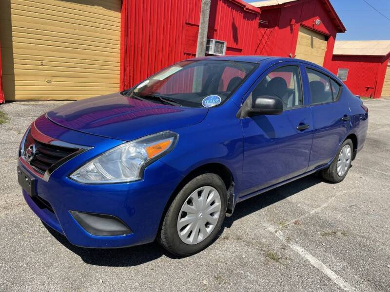 2015 Nissan Versa for sale at Pary's Auto Sales in Garland TX
