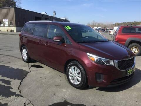 2015 Kia Sedona for sale at SHAKER VALLEY AUTO SALES in Enfield NH
