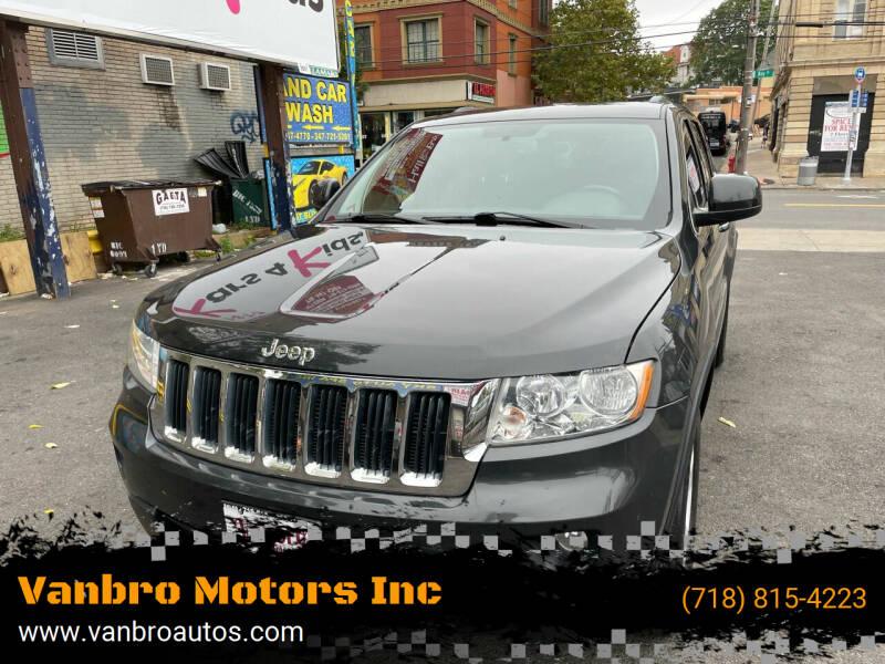 2011 Jeep Grand Cherokee for sale at Vanbro Motors Inc in Staten Island NY