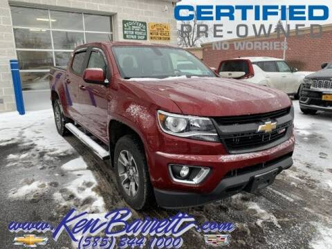2018 Chevrolet Colorado for sale at KEN BARRETT CHEVROLET CADILLAC in Batavia NY