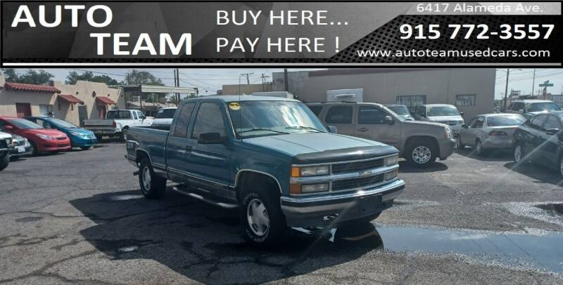 1997 Chevrolet Silverado 1500 for sale at AUTO TEAM in El Paso TX
