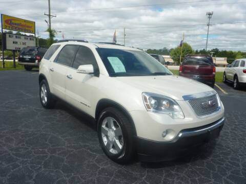 2008 GMC Acadia for sale at Roswell Auto Imports in Austell GA