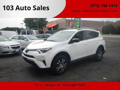 2018 Toyota RAV4 for sale at 103 Auto Sales in Bloomfield NJ