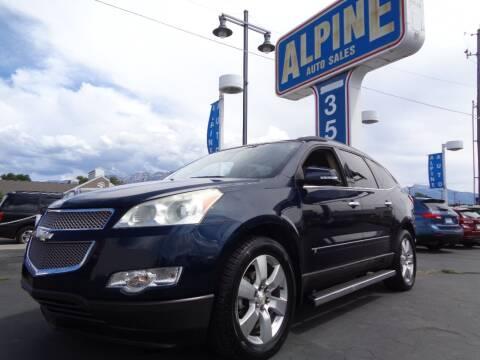2009 Chevrolet Traverse for sale at Alpine Auto Sales in Salt Lake City UT
