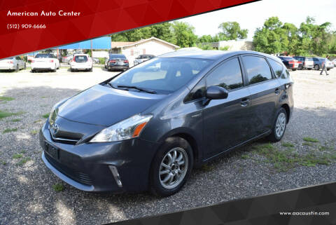 2014 Toyota Prius v for sale at American Auto Center in Austin TX