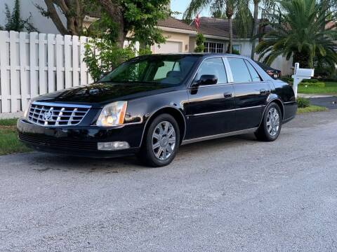 2006 Cadillac DTS for sale at UNITED AUTO BROKERS in Hollywood FL