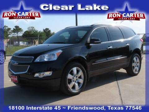 2012 Chevrolet Traverse for sale at Ron Carter  Clear Lake Used Cars in Houston TX
