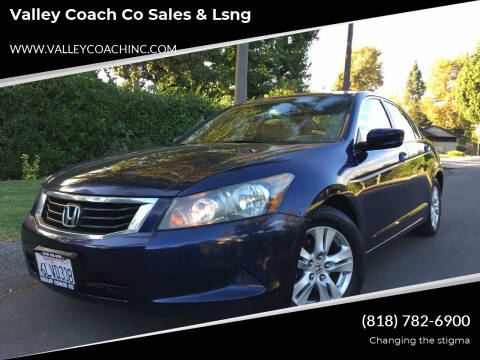 2010 Honda Accord for sale at Valley Coach Co Sales & Lsng in Van Nuys CA