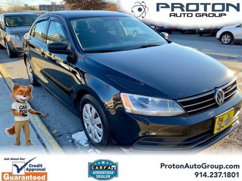 2016 Volkswagen Jetta for sale at Proton Auto Group in Yonkers NY