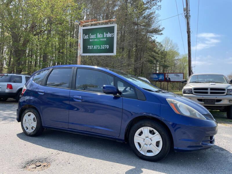 2013 Honda Fit for sale at East Coast Auto Brokers in Chesapeake VA