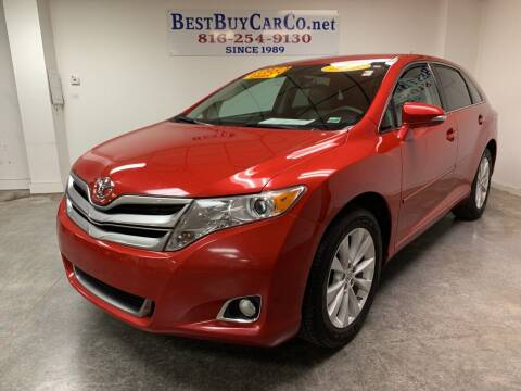 2013 Toyota Venza for sale at Best Buy Car Co in Independence MO