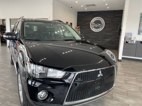 2013 Mitsubishi Outlander for sale at Evolution Autos in Whiteland IN