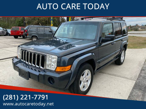 2007 Jeep Commander for sale at AUTO CARE TODAY in Spring TX