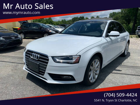 2013 Audi A4 for sale at Mr Auto Sales in Charlotte NC