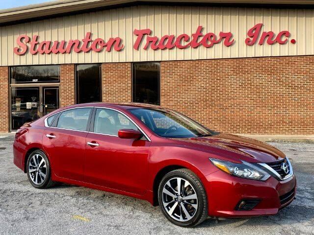 2017 Nissan Altima for sale at STAUNTON TRACTOR INC in Staunton VA