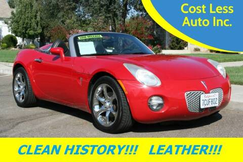 2006 Pontiac Solstice for sale at Cost Less Auto Inc. in Rocklin CA