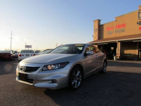 2012 Honda Accord for sale at Import Motors in Bethany OK