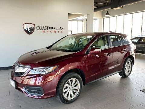 2018 Acura RDX for sale at Coast to Coast Imports in Fishers IN