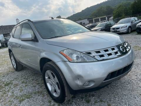 2005 Nissan Murano for sale at Ron Motor Inc. in Wantage NJ