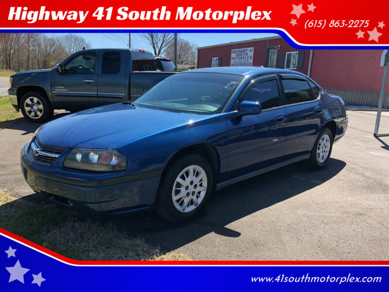 2004 Chevrolet Impala for sale at Highway 41 South Motorplex in Springfield TN