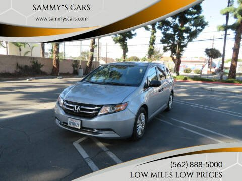 "2016 Honda Odyssey for sale at SAMMY""S CARS in Bellflower CA"