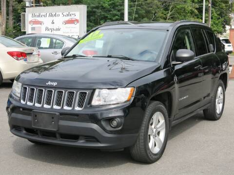 2013 Jeep Compass for sale at United Auto Service in Leominster MA