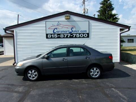 2007 Toyota Corolla for sale at CARSMART SALES INC in Loves Park IL