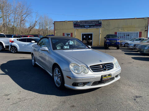 2004 Mercedes-Benz CLK for sale at Virginia Auto Mall in Woodford VA