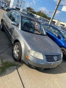 2003 Volkswagen Passat for sale at Bob Luongo's Auto Sales in Fall River MA