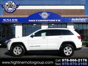 2017 Jeep Grand Cherokee for sale at Highline Group Motorsports in Lowell MA